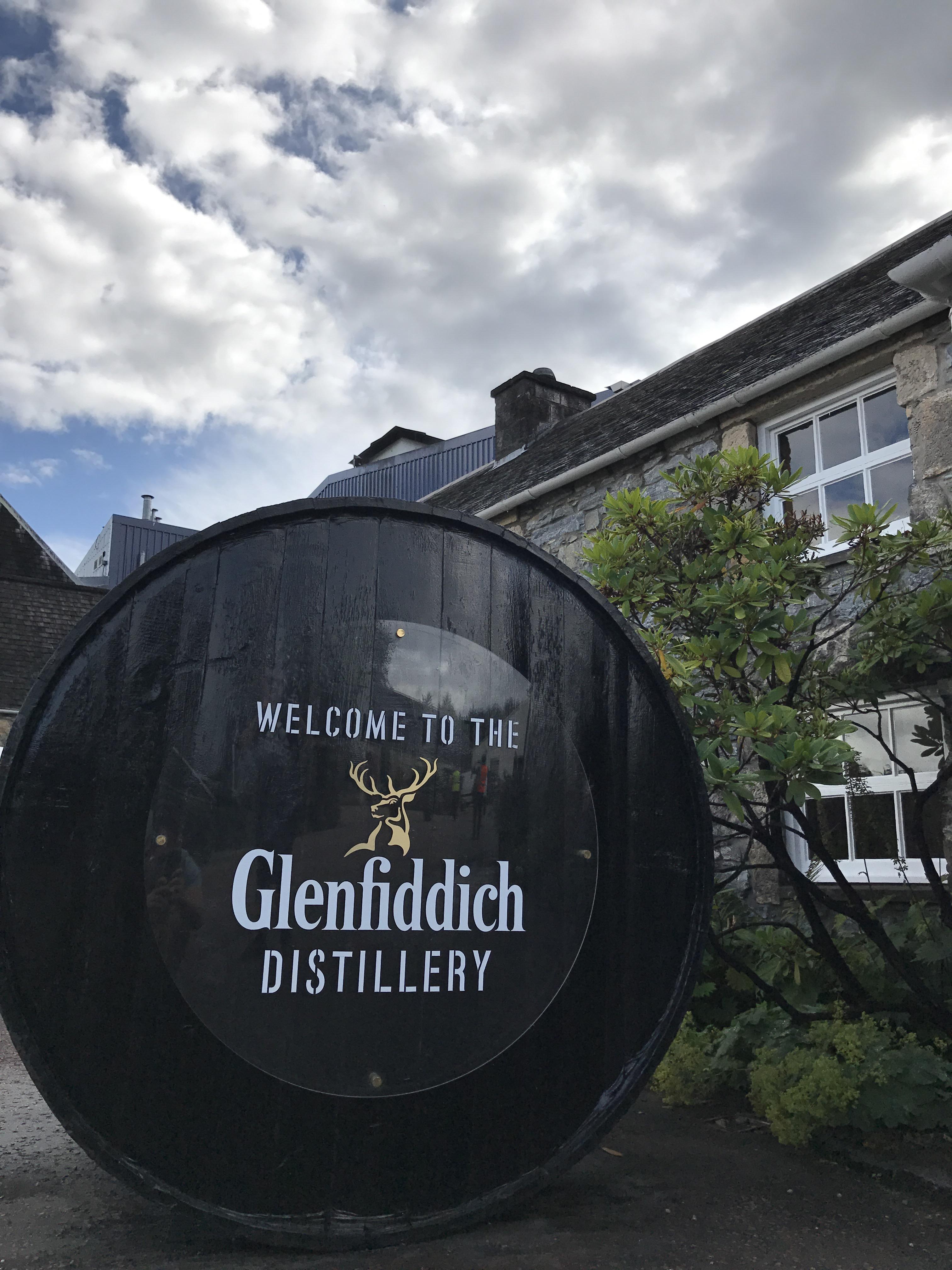 glenfiddich distillery besichtigung